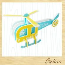2015 Taiwan manufacture new design creative custom DIY Promotional Airplane Jigsaw