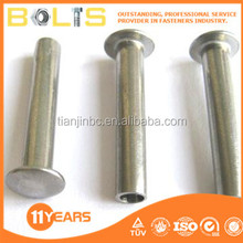 stainless steel contersunk head rivet DIN 661