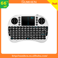 Rii i8 mini white wireless keyboard 2.4G with Touchpad for PC android TV