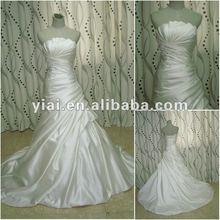 JJ2678 Drop Shipping Satin Long Train Ball Gown bridal gown 2012