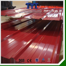 color steel roofing/various color steel roofing/rib-type color steel roofing