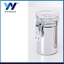Taiwan stainless steel clear cover vacuum canister