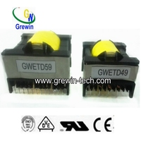 ETD high frequency switching pcb electric transformer hs code