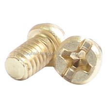 Nonstandard brass phillips screw/cross recessed screw, custom design