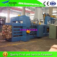 High quality aluminium scrap baling machine