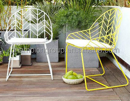 Exceptionnel Bending Steel Dining Chair, Wire Mesh Outdoor Table Set WR 3341