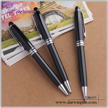 2015 New design business gift metal pen with logo print