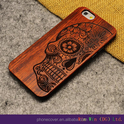 Natural Wood sublimation phone Case wholesale wood mobile phone case for iphone