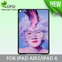Printable Fashion Sublimation hard PC cover case for Ipad Air 2