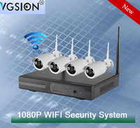 VGSION p2p ip camera wifi ip camera with nvr kit hot selling high quality outdoor and indoor wireless 1080P HD IP camera