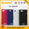 Wholesale Price Cell Phone Accessory Flip Leather Case For Sony E3 Case, Shockproof PC+Genuine Leather Cover Case For Sony
