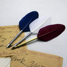 Calligraphy Writing Quill Feather fountain pen