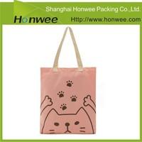 high quality cheap fashion recyclable shopping cotton bag