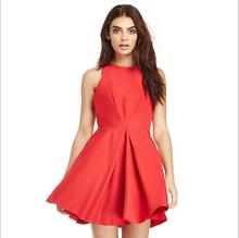 2015 latest design high waist sleeveless backless mature women wear sexy slim fit dresses