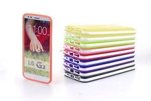 Dual Tone Matte TPU Soft Back Case Cover Skin for LG G2 D802 Wholesale