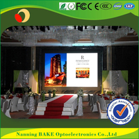 Indoor P3 P5 fixed front maintenance econmical led display 8mm led module