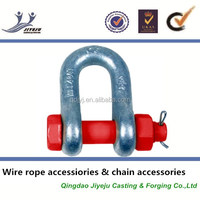 U.S. Type Drop Forged Craft D Bolt Anchor Shackles