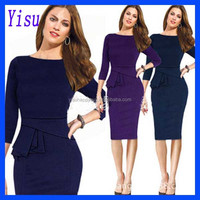 Wholesale European and American style Women's Sexy Slim dress