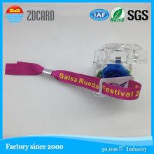 custom polyester fabric woven wristband