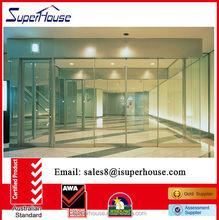 commercial automatic aluminum sensor sliding doors