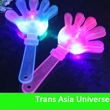 Hot Selling Cheap logo light up cheering clapper sticks