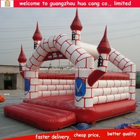 2016 the Newest Fantastic Girl / Boy big fun Knight Inflatable Bouncing castles