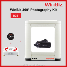 Fast &Easy Photo Device for Products (PC-Controlled System, Studio and turntable included) 360 degrees electric rotating display