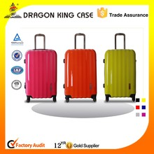 2013 best seller new design custom trolley suitcase luggage