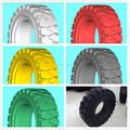 Pneus sólidos empilhadeira / pneus não marcação sólidos empilhadeira pneu / pneu