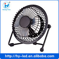 2014 Hot sale USB mini fans and Small 4inch ultra-quiet fan