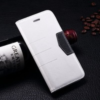 """Smart inside magnetic closure quality PU leather wallet phone case for Iphone 6 Plus 5.5"""" inch"""