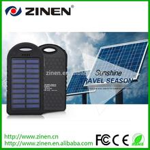 Hot selling solar cell power bank portable charger power bank power bank portable charger