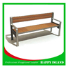 2015 hot new design Chinese manufacturer factory directly solid pine wood bench Benches For Public Park Classic Wooden Furniture