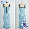 2015 Yihao Trade Assuracne dress fish tail design slim evening dress