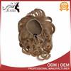 Wholesale price synthetic fiber hair accessory chignon hair pieces bun