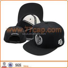Flat Brim Baseball Cap Golf Cap Snapback Hat Factory