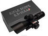 Red Laser Sight 2.5-10x40 IRG With Duplex Reticle Rifle Scope 11MM Mount