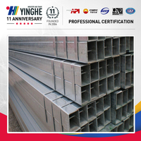 high strength galvanized/zinc coated square steel pipe made in china