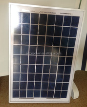 30W poly solar panel PV module ,small solar panel 12V