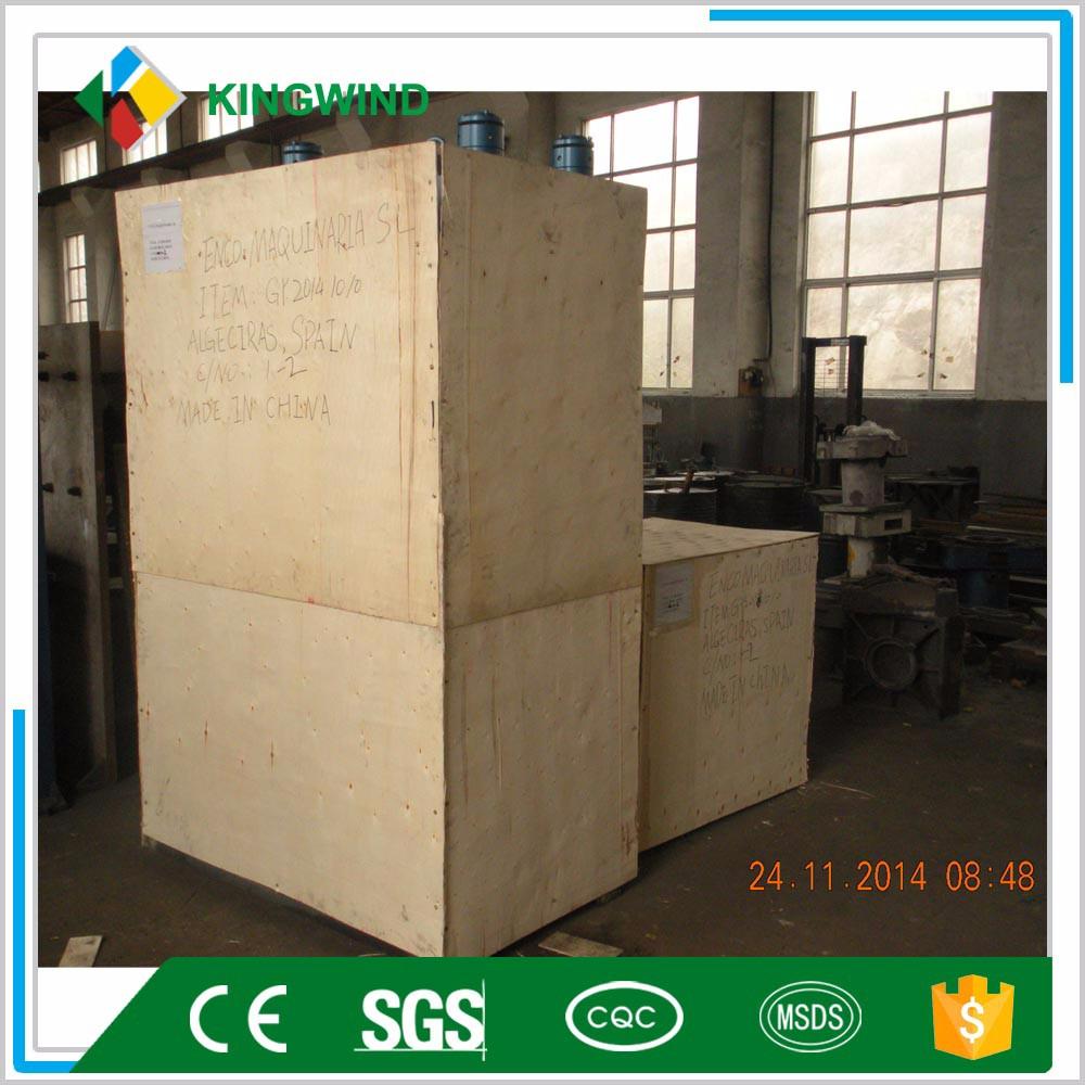 China profissional de alta qualidade e preço barato pisos de borracha que faz a máquina