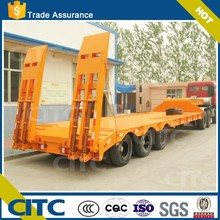 CITC china brand 2 axles 3 axles china gooseneck horse trailer low bed semi trailer with high quality low price for sale