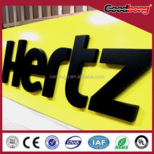 Led large outdoor led open sign
