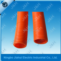 20MM Australian standard HD orange pvc flexible conduit, 20MM AS/NZS2053 heavy duty flexible corrugated electrical conduit pipes