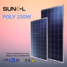 sun cell panel solar 250 watt from chinese suppliers