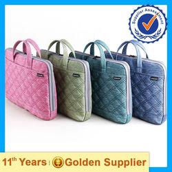 2015 popular leather laptop bag, ladies bag brand name