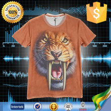 China leading PWC brand compress animal printed custom tshirt