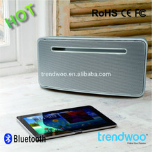 Zinc Alloy X-Bass Version 4.0 HiFi Stereo 5W NFC Bluetooth Speaker,Portable Powered Speaker
