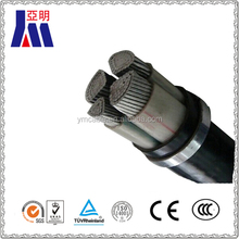 XLPE insulated pvc jacket aluminum armoured electrical wire cable