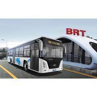 FDG Long River Branded Electric Long Coach / Shuttle Bus / City Bus / Public Bus, Big Seating Capacity: 86 Seats