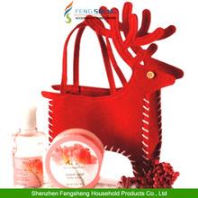 Christmas Candy Bag Santa Reindeer Deer XMAS Present Gifts Filler Holder By Hand